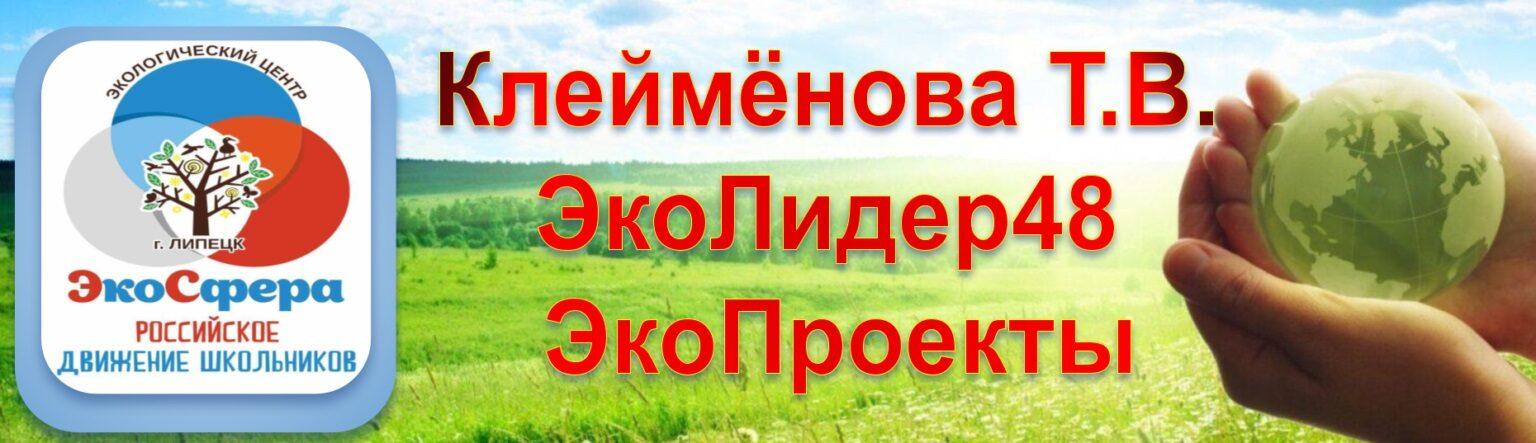 Персональный сайт Клейменовой Т.В.